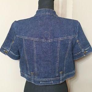 Tribal Jackets & Coats - Tribal Jeans Jacket